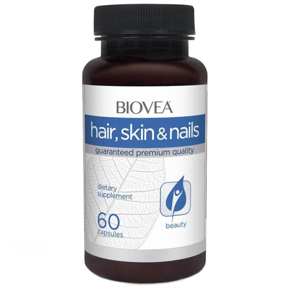 Витамины Biovea Skin Hair Nails 60 caps