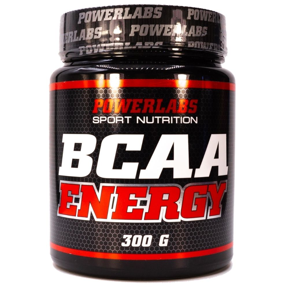 BCAA Powerlabs BCAA Energy 300 g Яблоко