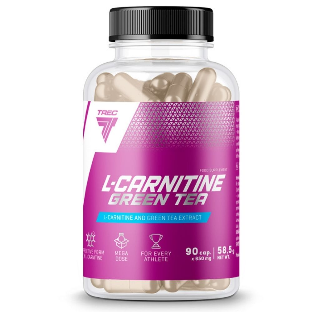 L-карнитин Trec Nutrition L-Carnitin + Green Tea 90 caps