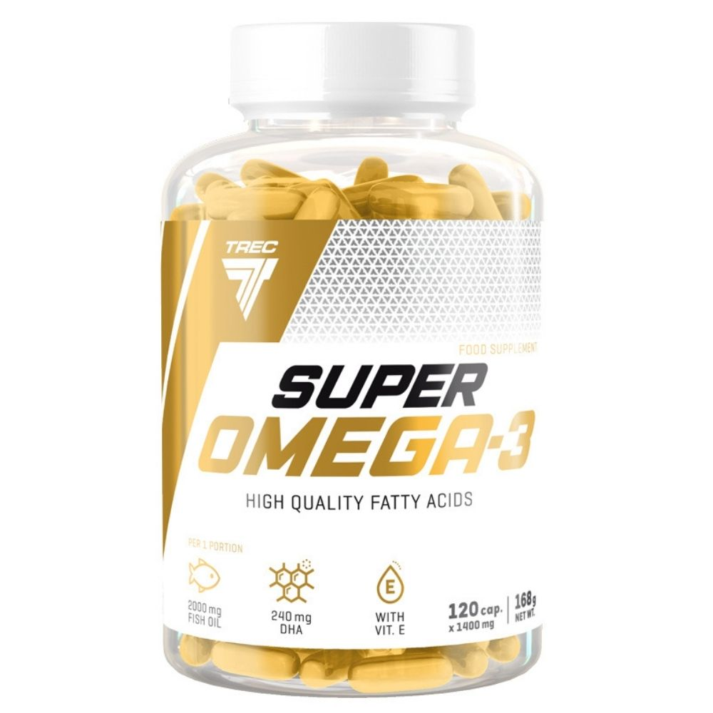 Витамины Trec Nutrition Super Omega-3  120 caps